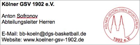 Kölner GSV (Herren)