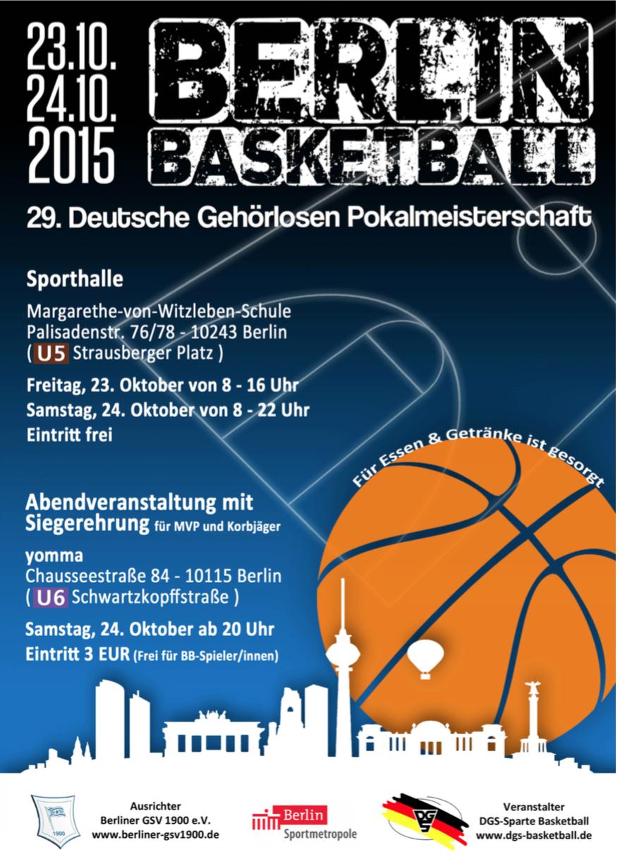 Plakat DGPM2015 in Berlin